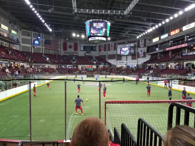 US National Arena Soccer Team Boise
