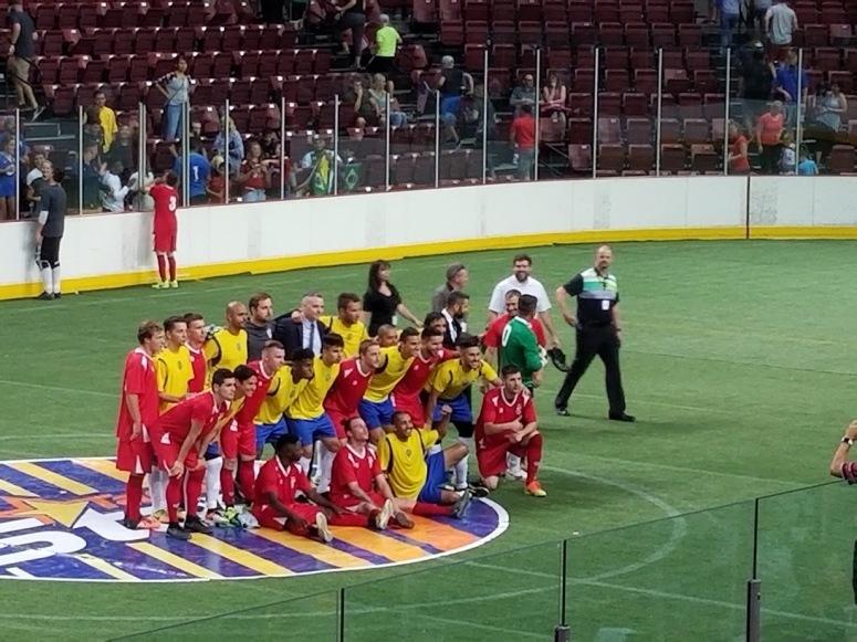 US National Arena Soccer team Boise